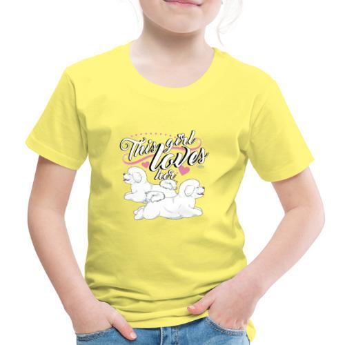 bichonsgirl - Lasten premium t-paita