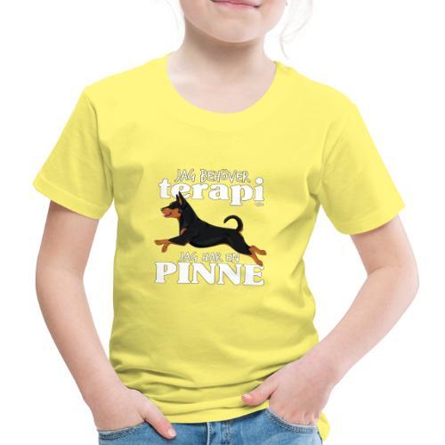 pinneterapi3 - Lasten premium t-paita