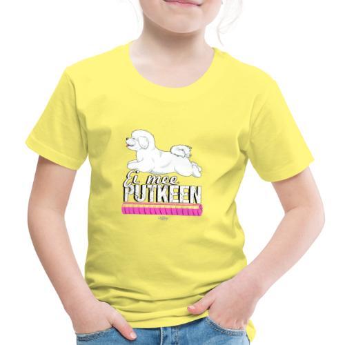 bichonputkeen - Lasten premium t-paita