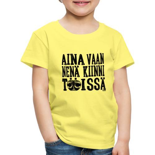 Nose Work Nenä Kiinni 2 - Lasten premium t-paita