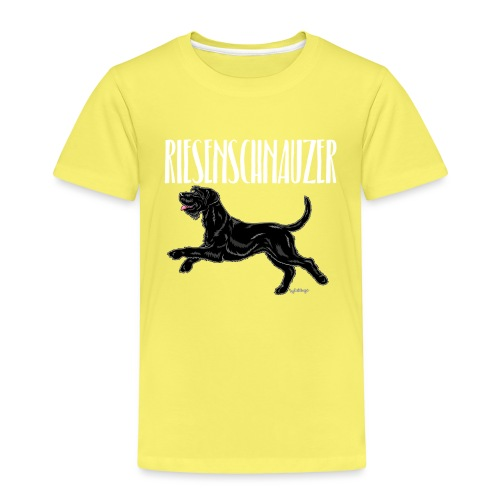 Riesenschnauzer 03 - Kids' Premium T-Shirt