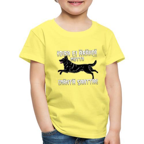 Saksanpaimen Emäntä 3 - Lasten premium t-paita
