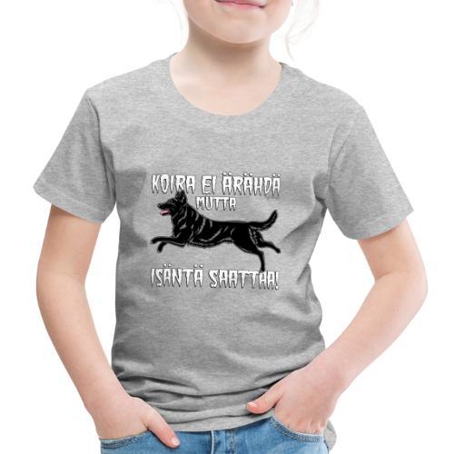 Saksanpaimen Isäntä - Lasten premium t-paita