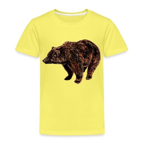 orso - Maglietta Premium per bambini