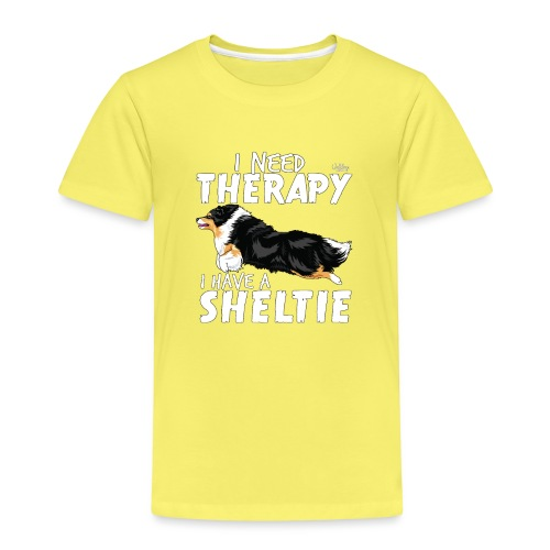sheltietherapy2 - Kids' Premium T-Shirt