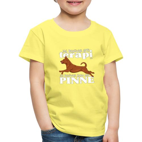 pinneterapi - Lasten premium t-paita