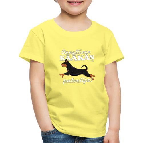 kaakanpalvelija - Lasten premium t-paita