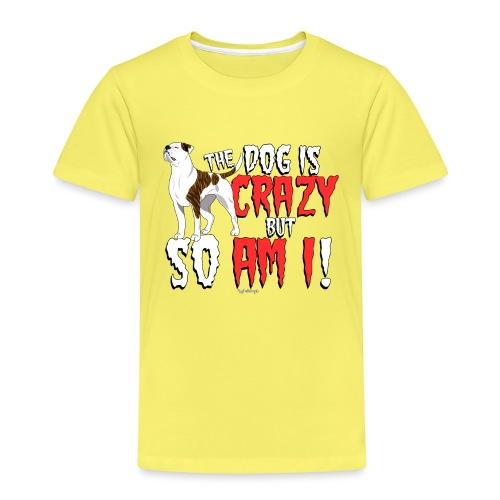 American Bulldog Crazy - Kids' Premium T-Shirt