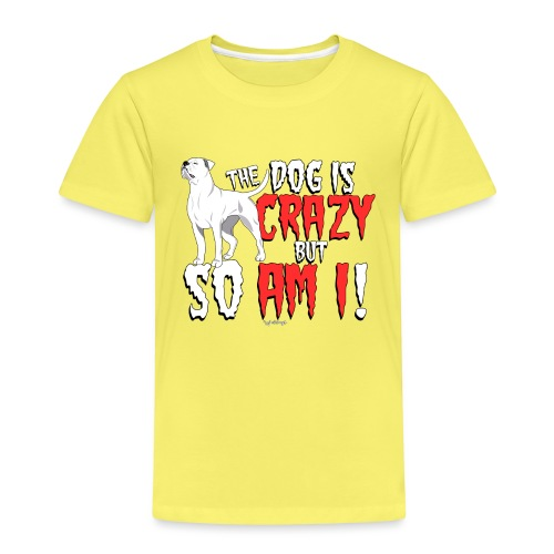 American Bulldog Crazy!2 - Kids' Premium T-Shirt