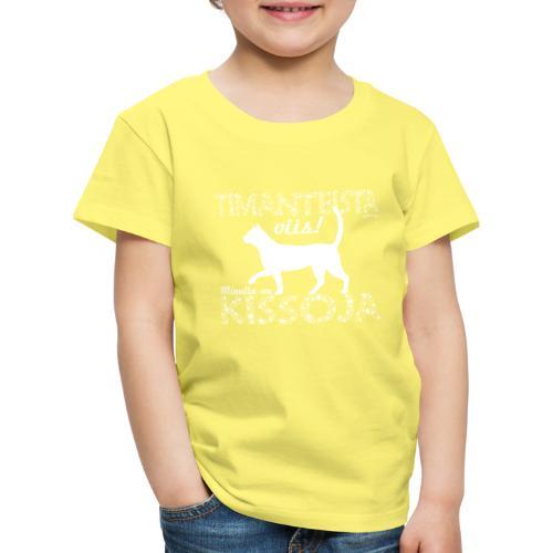 Kissoja Dimanig - Lasten premium t-paita