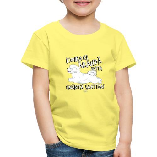 bichonemanta - Lasten premium t-paita