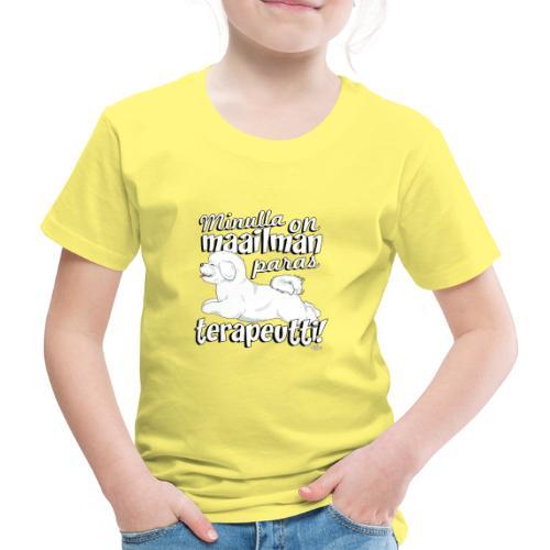 bichonterapeutti - Lasten premium t-paita