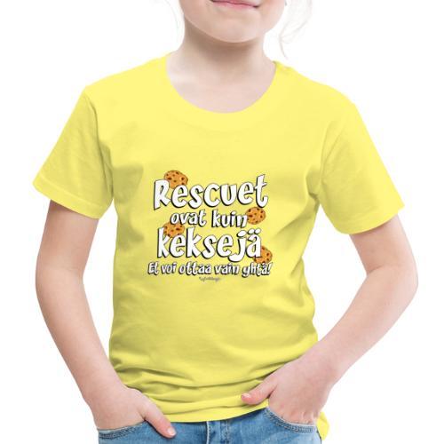 Rescue keksejä - Lasten premium t-paita