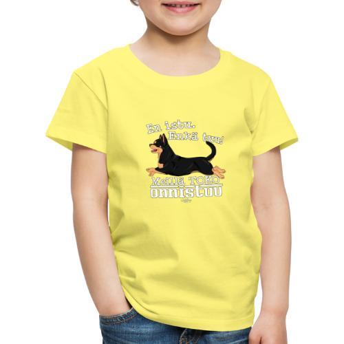 chihutoko2 - Lasten premium t-paita