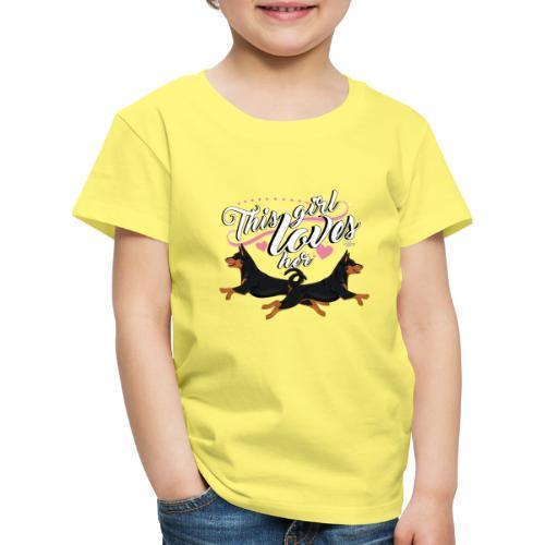 pinschersgirl - Lasten premium t-paita
