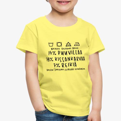 Kissan Omistajan Paita - Lasten premium t-paita