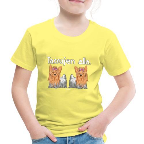 Yorkkitassujen Alla - Lasten premium t-paita