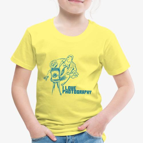 Photography - Camiseta premium niño