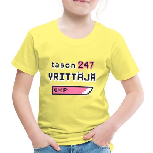 Tason 247 Yrittäjä II - Lasten premium t-paita