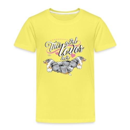sheltiesgirl4 - Kids' Premium T-Shirt