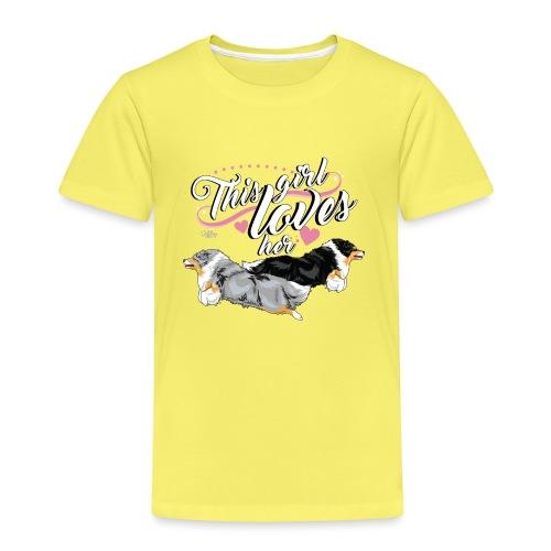 sheltiesgirl5 - Kids' Premium T-Shirt