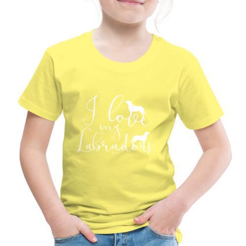 ilovemylabs - Lasten premium t-paita