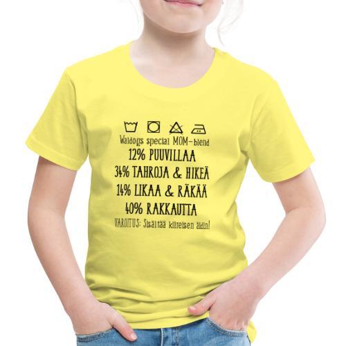 Äidin Paita - Lasten premium t-paita