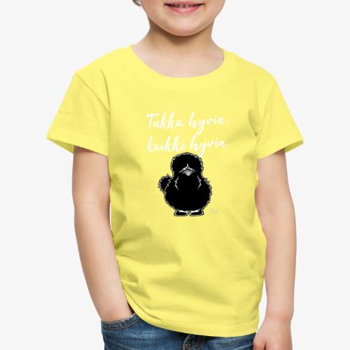Tukka Hyvin Silkki 01 - Lasten premium t-paita