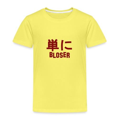 Bloser Design Red - Kinder Premium T-Shirt