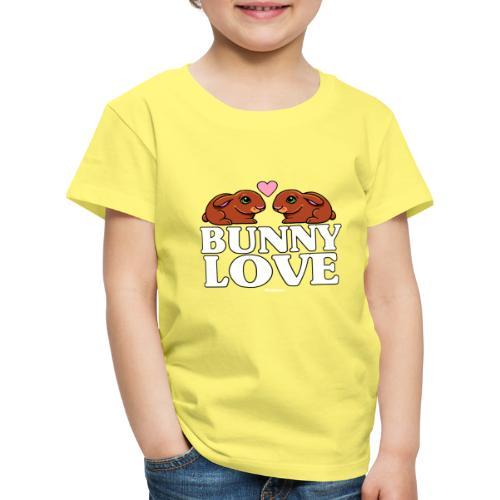 Bunny Love 4 - Lasten premium t-paita
