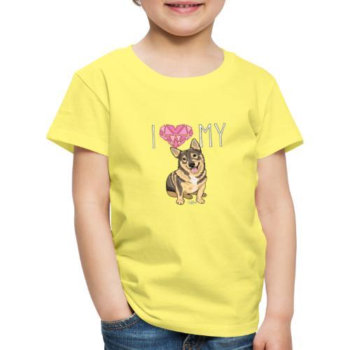 lovevallhund - Lasten premium t-paita