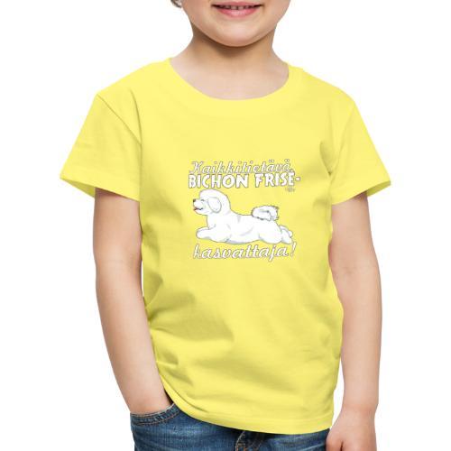 bichonkasvattaja - Lasten premium t-paita