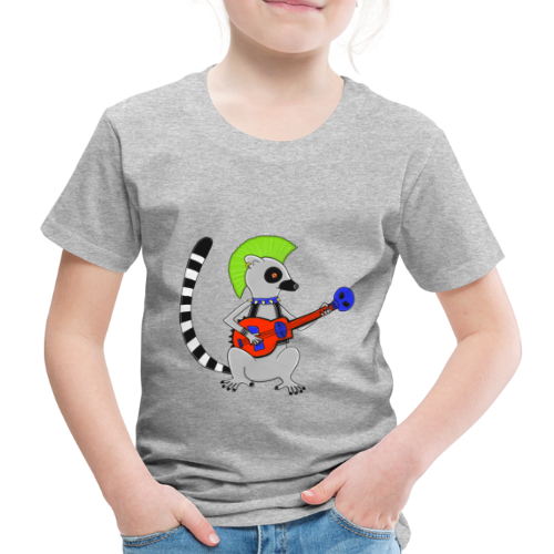 Katta-Punk - Kinder Premium T-Shirt