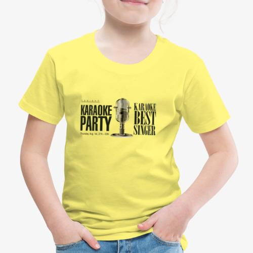 Karaoke party - Camiseta premium niño
