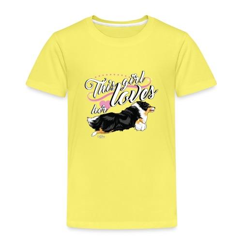 sheltiegirl - Kids' Premium T-Shirt