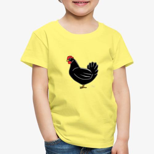 Black Chicken - Lasten premium t-paita