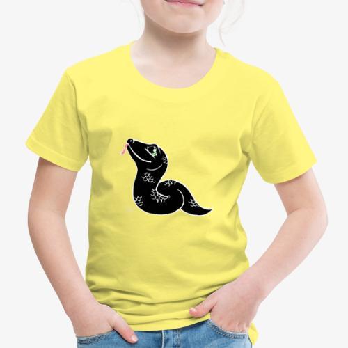 Käärme V - Lasten premium t-paita
