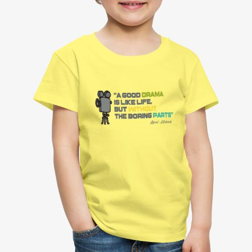 Pasión por el cine - Camiseta premium niño