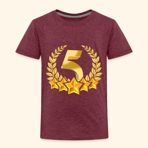 Fünf-Stern 5 sterne - Kinder Premium T-Shirt