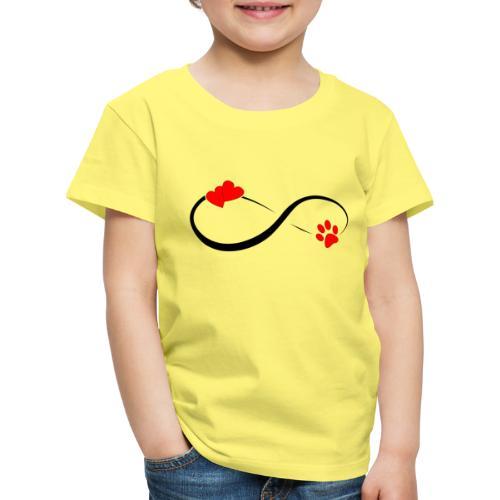 Love forever - Kinder Premium T-Shirt