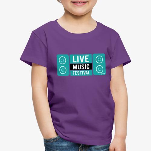 Amo la música - Camiseta premium niño