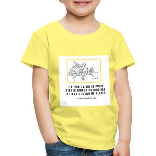 La PUREZA no se puede perder nunca - Kids' Premium T-Shirt