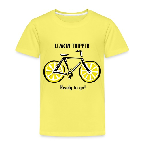 LEMON TRIPPER BICYCLE Textiles and Gifts Products - Lasten premium t-paita