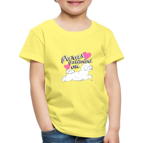 bichonystavani - Lasten premium t-paita