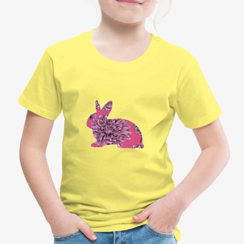 Flower Rabbit II - Lasten premium t-paita