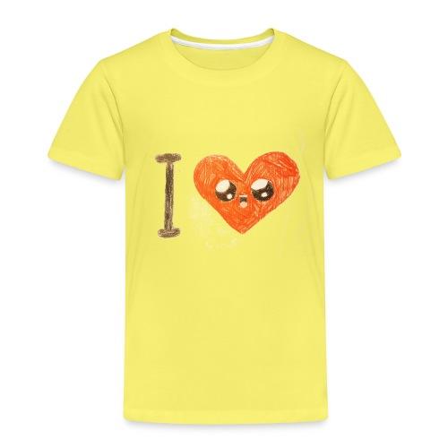 Kids for Kids: heart - Kinder Premium T-Shirt