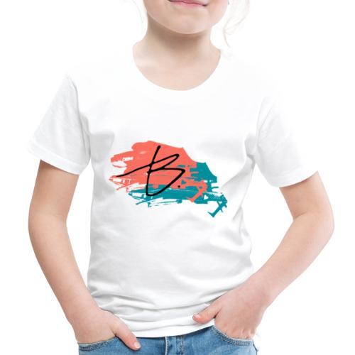 B - Lasten premium t-paita