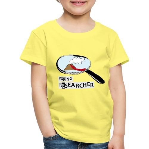 Young Researcher Volcano Wissenschaft - Kinder Premium T-Shirt