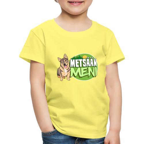 Vallhund Göötti Metsään - Lasten premium t-paita