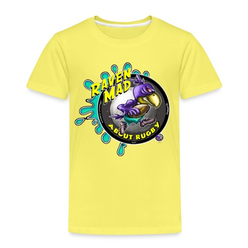 Raven Mad About Rugby - Kids' Premium T-Shirt